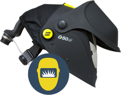 Welders Discount Warehouse Esab G50 Air Fed System Complete