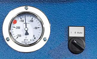 FES-Fume-Extraction-System-Auto-Stop-Pressure-Gauge